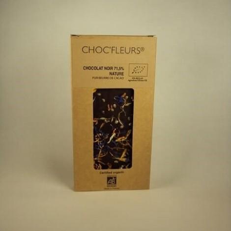 Tablette de chocolat noir 71.5% nature