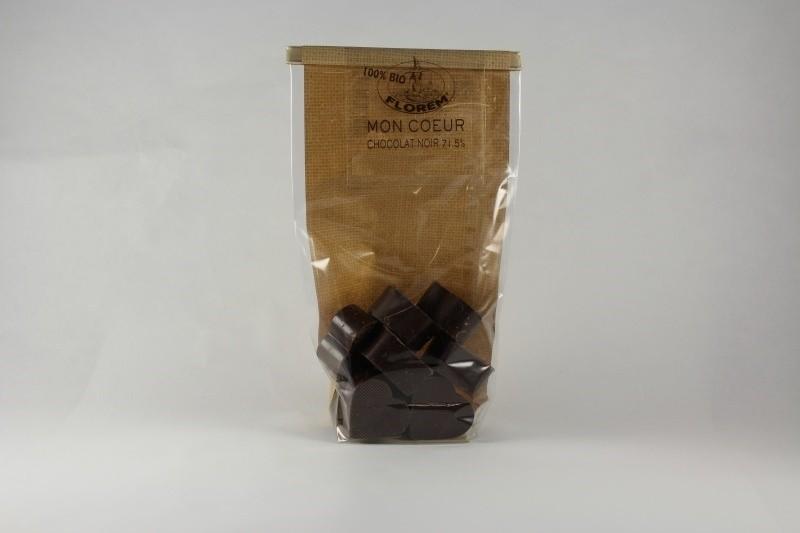 Mon coeur chocolat noir 71.5%