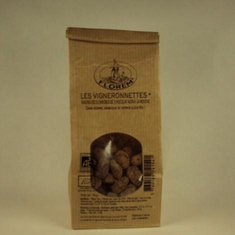 Les vigneronnettes raisins secs enrobes de chocolat noir a la menthe