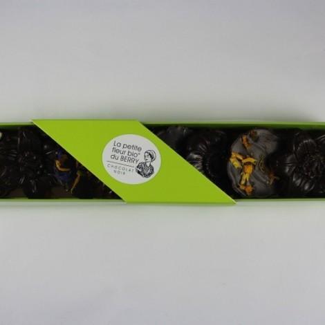 La petite fleur bio du berry chocolat noir 71.5%